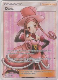 pokemon sm team up dana 173 181 full art