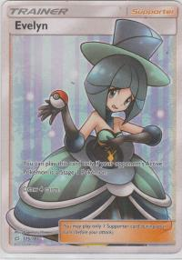 pokemon sm team up evelyn 175 181 full art