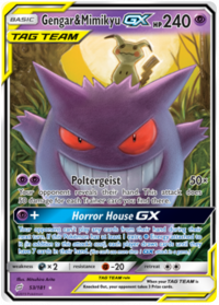pokemon sm team up gengar mimikyu gx 53 181