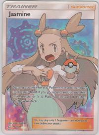 pokemon sm team up jasmine 177 181 full art