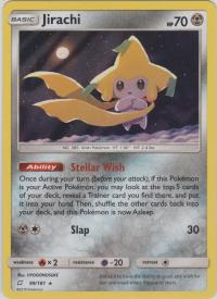 pokemon sm team up jirachi 99 181