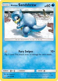 pokemon sm ultra prism alolan sandshrew 28 156