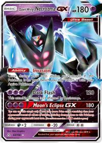 pokemon sm ultra prism dawn wings necrozma gx 63 156
