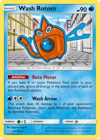 pokemon sm ultra prism wash rotom 40 156 rh