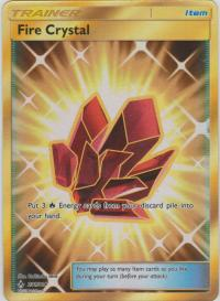 pokemon sm unbroken bonds fire crystal 231 214 secret rare