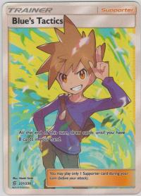 pokemon sm unified minds blue s tactics 231 236 full art