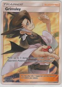 pokemon sm unified minds grimsley 234 236 full art