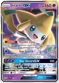 pokemon sm unified minds jirachi gx 79 236