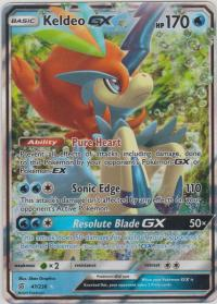 pokemon sm unified minds keldeo gx 47 236