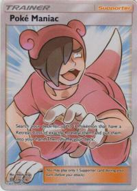 pokemon sm unified minds poke maniac 236 236 full art