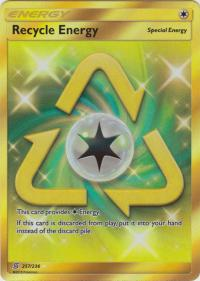 pokemon sm unified minds recycle energy 257 236 secret rare
