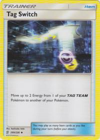 pokemon sm unified minds tag switch 209 236