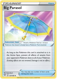 pokemon ss darkness ablaze big parasol 157 189
