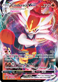 pokemon ss rebel clash cinderace vmax 036 192