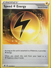 pokemon ss rebel clash speed lightning energy 173 192