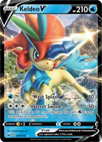 pokemon ss sword shield base set keldeo v 053 202