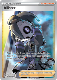 pokemon ss vivid voltage allister 179 185 full art