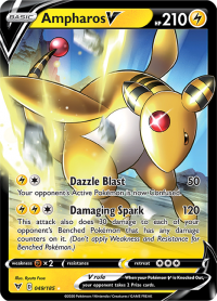 pokemon ss vivid voltage ampharos v 049 185