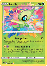 pokemon ss vivid voltage celebi 009 185