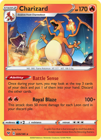 pokemon ss vivid voltage charizard 025 185