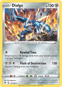 pokemon ss vivid voltage dialga 121 185
