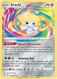 pokemon ss vivid voltage jirachi 119 185