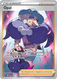 pokemon ss vivid voltage opal 184 185 full art