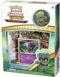 pokemon pokemon boxes and packs pokemon sun moon 3 5 shining legends marshadow pin collection