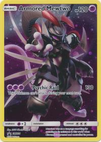 pokemon sun moon promos armored mewtwo sm228
