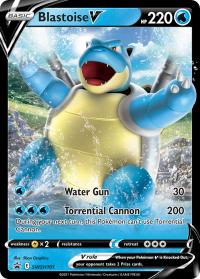 pokemon sword shield promos blastoise v swsh101