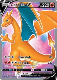 pokemon sword shield promos charizard v swsh050