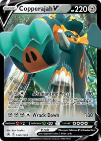 pokemon sword shield promos copperajah v swsh030