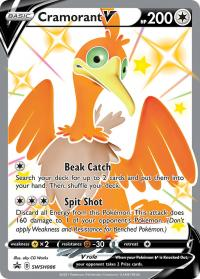 pokemon sword shield promos cramorant v swsh086