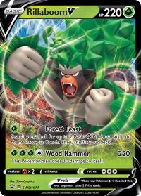 pokemon sword shield promos rillaboom v swsh014