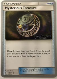 pokemon world championship cards mysterious treasure 113 131 wc