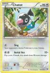 pokemon xy break through chatot 128 162