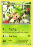 pokemon xy break through chespin 9 162