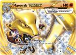 pokemon xy break through marowak break 79 162