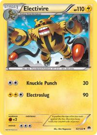 pokemon xy breakpoint electivire 43 122
