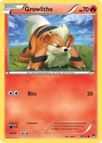pokemon xy breakpoint growlithe 10 122