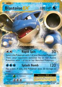 pokemon xy evolutions blastoise ex 21 108