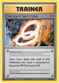 pokemon xy evolutions charizard spirit link 75 108