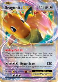 pokemon xy evolutions dragonite ex 72 108