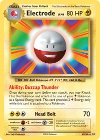 pokemon xy evolutions electrode 40 108