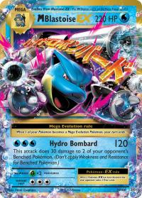 pokemon xy evolutions m blastoise ex 22 108