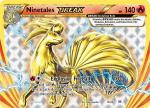 pokemon xy evolutions ninetales break 16 108