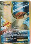 pokemon xy evolutions pidgeot ex full art 104 108