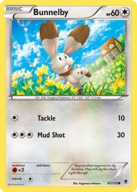 pokemon xy phantom forces bunnelby 87 119 rh