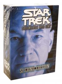 star trek 2e star trek 2e sealed product 2e premiere starter deck federation