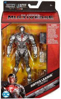 toys dc universe dc comics multiverse justice league movie cyborg 6 action figure